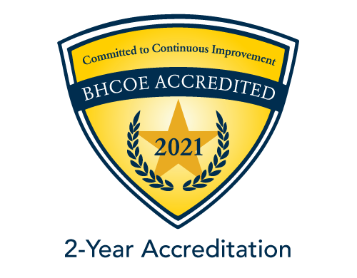 BHCOE Accreditation Seal